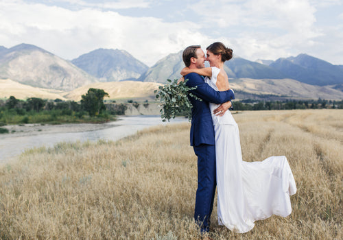 Amy & Ben's Montana Countryside Wedding