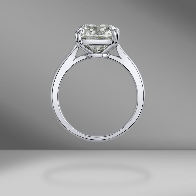 Cushion Brilliant Solitaire