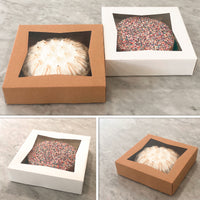 "Bakery Box 10""X10""2.5"" {Pack of 25}"