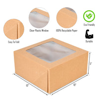 "Cake Boxes 10"" X 10"" X 5"" {Pack of 15}"