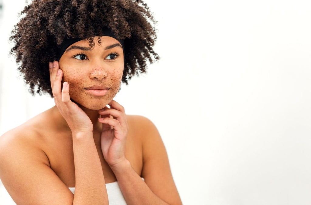 BASE SKCNARE - How to exfoliate your face