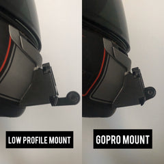 low profile gopro buckle mount