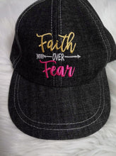Load image into Gallery viewer, Faith Over Fear & Wake.Pray.Slay