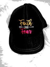 Load image into Gallery viewer, Faith Over Fear Hat