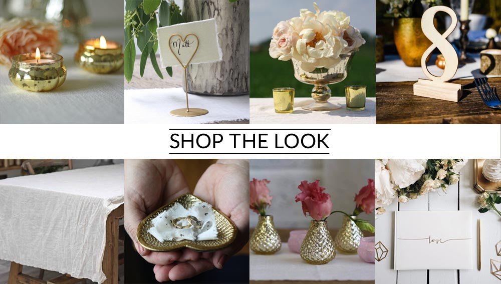 Antique gold footed vases shop the look