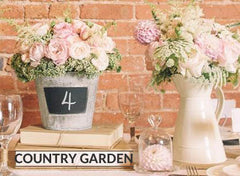 Country garden wedding decorations for sale
