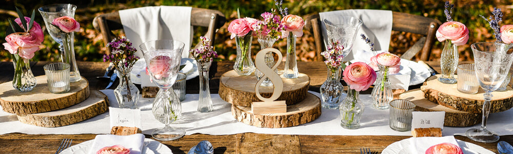 Enchanted woodland garden wedding decorations - for barn weddings tipi weddings