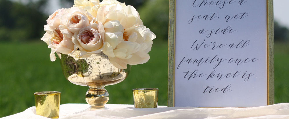 Glamorous Gold Wedding Decorations The Wedding Of My Dreams