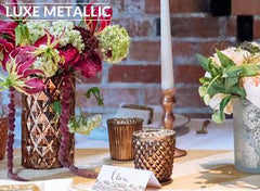 copper bronze gold wedding decorations for sale
