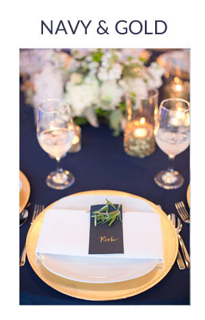 NAVY AND GOLD WEDDING COLOUR SCHEME AUTUMN WINTER
