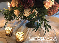 rustic glamour wedding decorations for sale