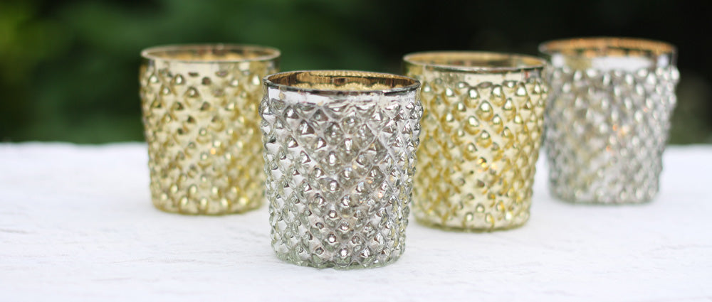 Candles tea light holders for weddings