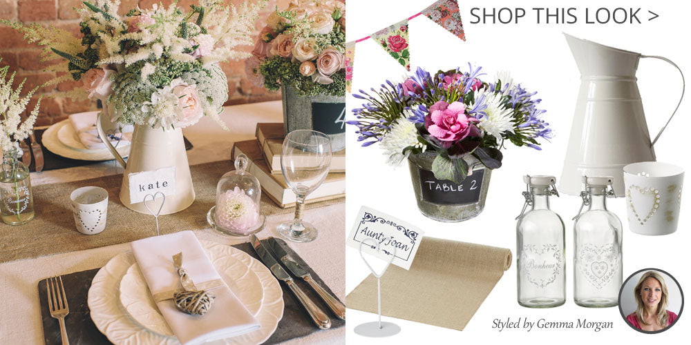 Country Style Wedding Decorations Shop This Look