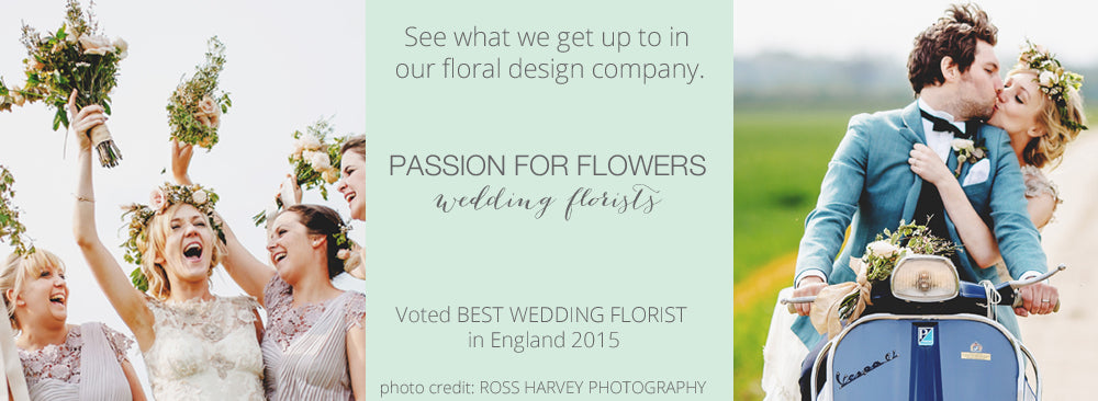 passion for flowers BEST WEDDING FLORIST ENGLAND