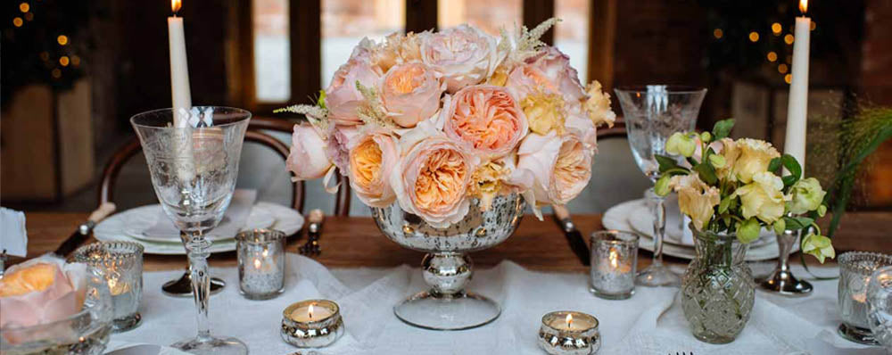wedding centrepieces vases mercury silver vases pressed glass vases for romantic glamour wedding