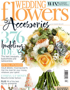 the wedding of my dreams featured in wedding flowers accessories magazine