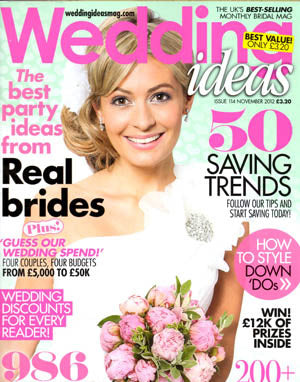 the wedding of my dreams featured in wedding ideas magazine