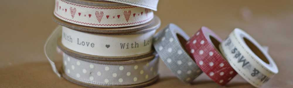 wedding ribbon washi tape twine