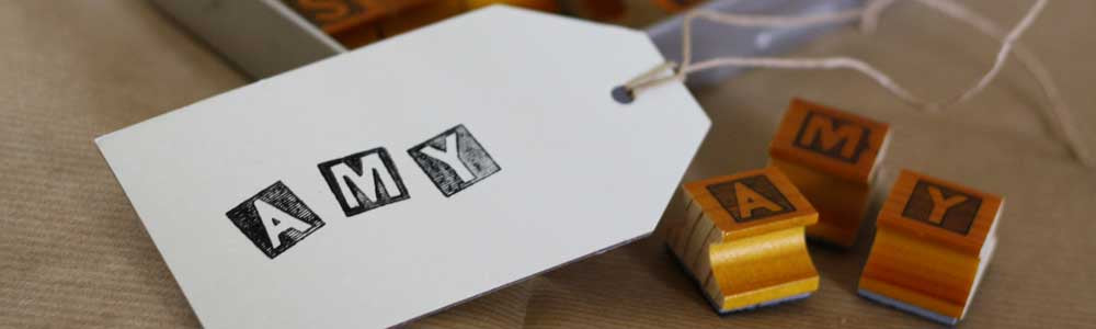 Stamps For Weddings | Alphabet Stamps A - Z, Number Stamps