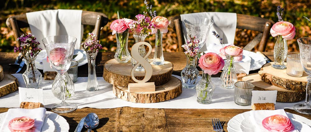 Wedding Table Decorations Centrepieces Vases Candle Holders