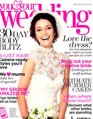 the wedding of my dreams featured in you and your wedding magazine