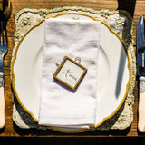 Antique Gold Luxe Charger Plate - available from The Wedding of my Dreams