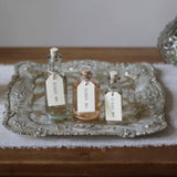 Antique Gold Tray Display Wedding Favours