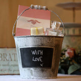 blackboard bucket gift box