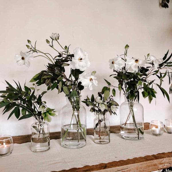 Botanical Bottle Vase (2 Sizes) The Wedding of my Dreams