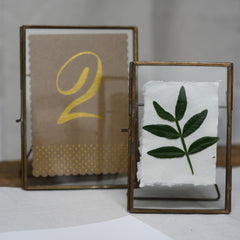 Brass Photo Frames available from The Wedding of my Dreams