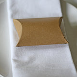 Brown Card Favour Box Pillow