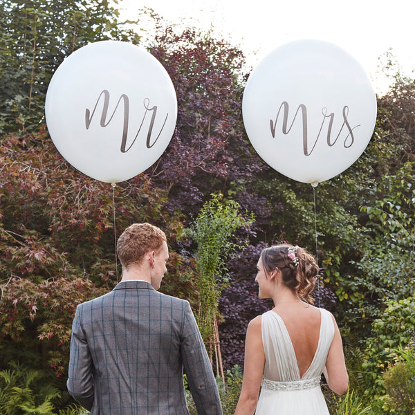 Giant Mr and Mrs Balloons 36""