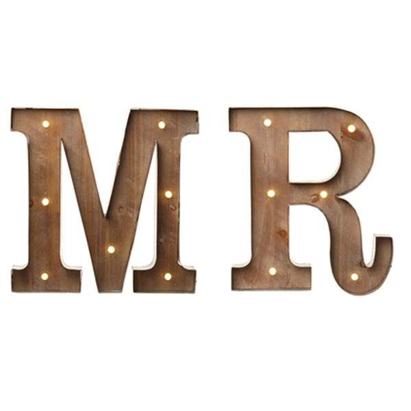 Carnival Light Up Letters MR