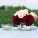 Grandma's Vase Pressed Glass Bowl Large - Wedding Centrepiece  The Wedding of my Dreams