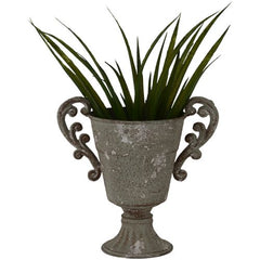 Grey Footed Urn with Handles - The Wedding of my Dreams