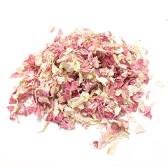 Blush pink confetti petals biodegradable from www.theweddingofmydreams.co.uk
