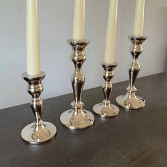 Silver Candlesticks – Set Of 2