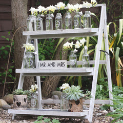 rustic ladders display stand wedding prop