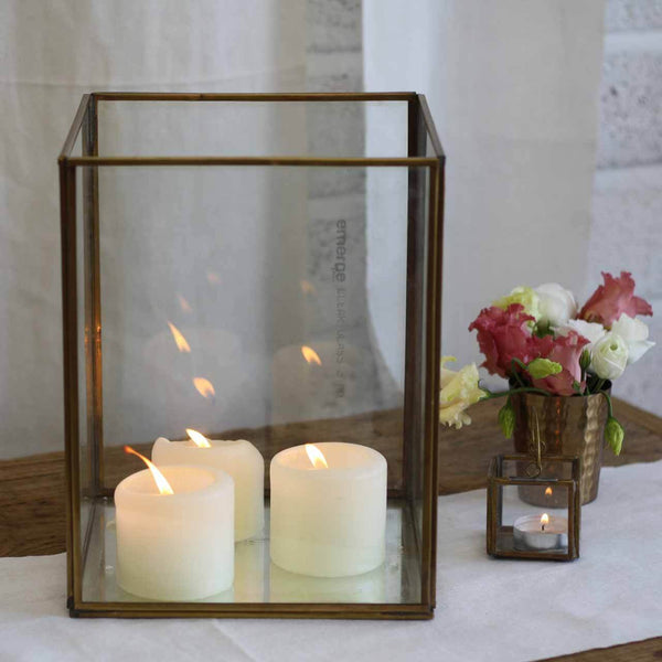Large brass lantern mirror base The Wedding of my Dreams