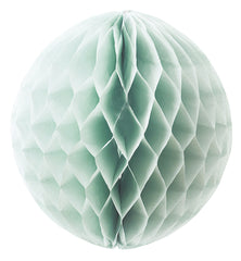 Large Honeycomb Paper Poms Mint Green
