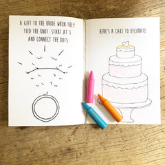 PRINTABLE Kids Activity Book Wedding Day Fun www.theweddingofmydreams.co.uk