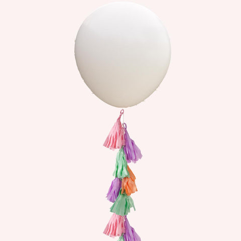 "Giant White Round Balloons (36"") Pack of 3"