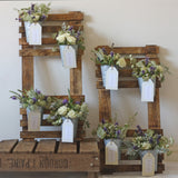 Additional Flower Pots For Rustic Table Plan