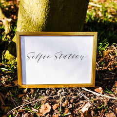 Selfie Station - Digital Download / Printable - Available from The Wedding of my Dreams
