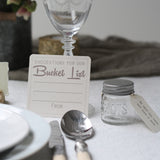 Suggestions For Our Bucket List Rustic - Set Of 10