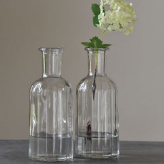 Vintage Glass Bottle Vases The Wedding of my Dreams