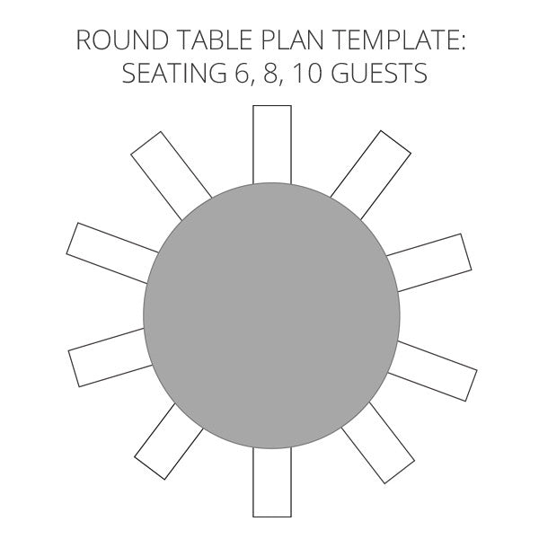 Wedding Seating Plan Template To Help Visualise Your Table