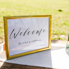 Welcome to our wedding sign - printable sign