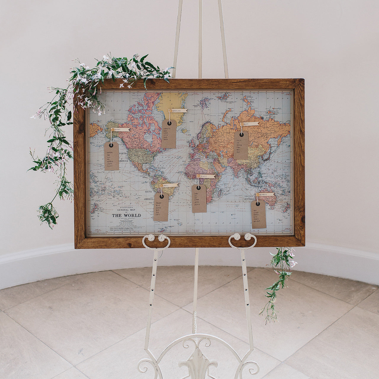 World map wedding table plan the wedding of my dreams world map print wedding table plan available to buy from the wedding of my dreams gumiabroncs Images