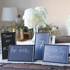 Wedding Blackboard Sign Free Standing